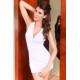 Sensual y atractivo vestido blanco